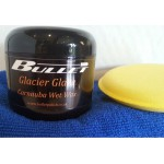 Glacier Glaze Carnauba paste wax Kit-120ml + FREE microfibre cloth & App. Sponge