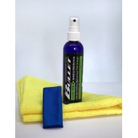 Clear View Visor shine Kit - 125ml + 2 FREE Microfibre cloths